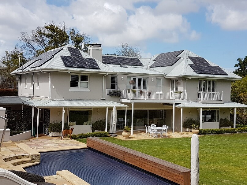 Solar System with Battery in Constantia