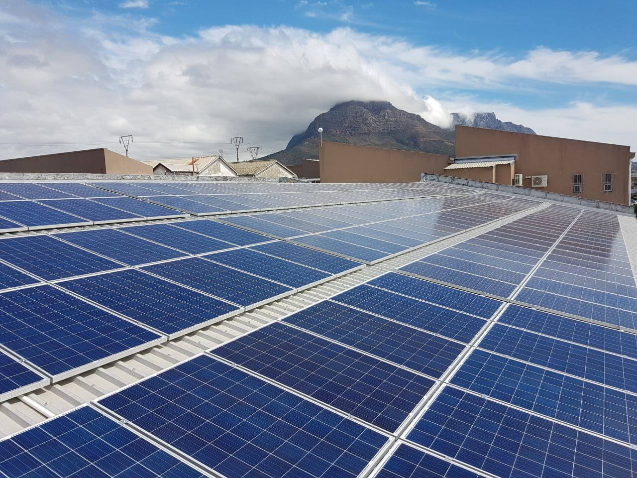 Commercial Solar Power System in Cape Town