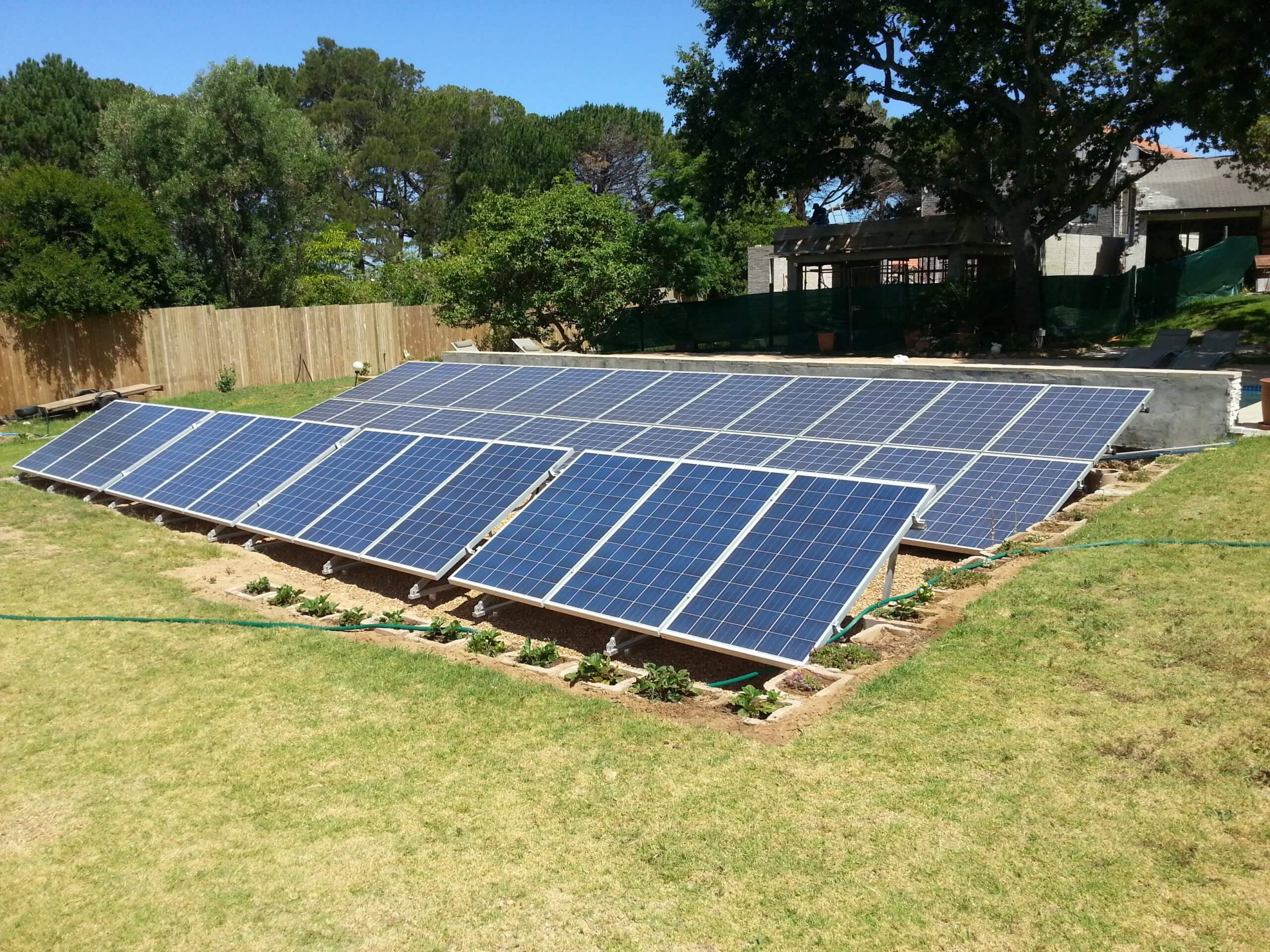 Residential Solar Power System with Batteries in Constantia - Cape Town