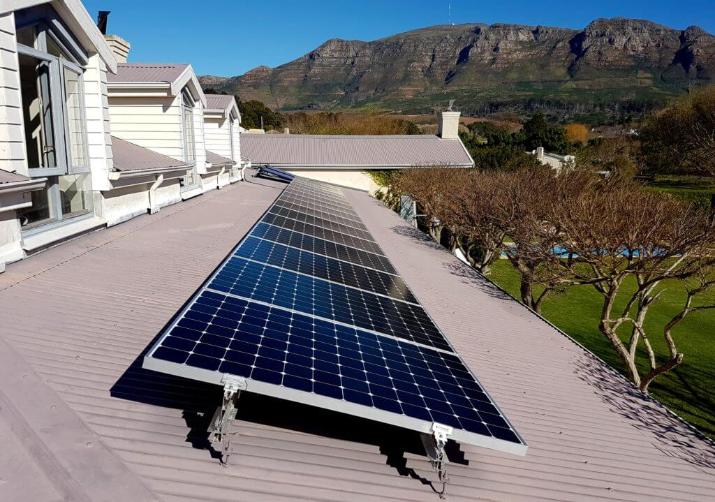 Residential High-Efficiency Solar System with Tesla Powerwall