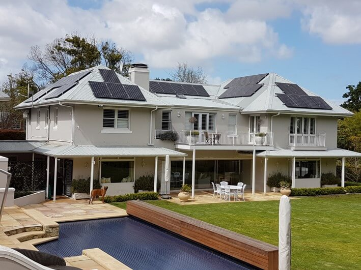 Solar System in Constantia to reduce electricity bill by 90%