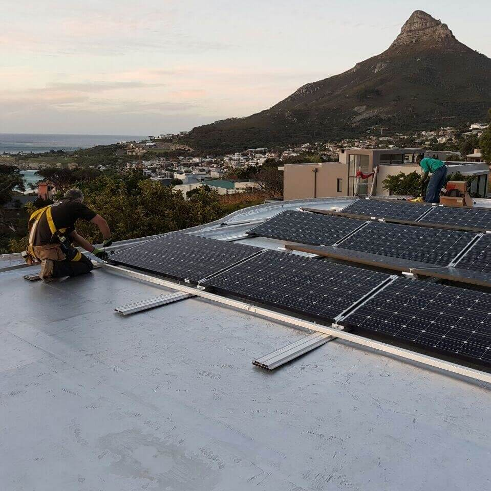 Residential PV System with Tesla Powerwall for Camps bay