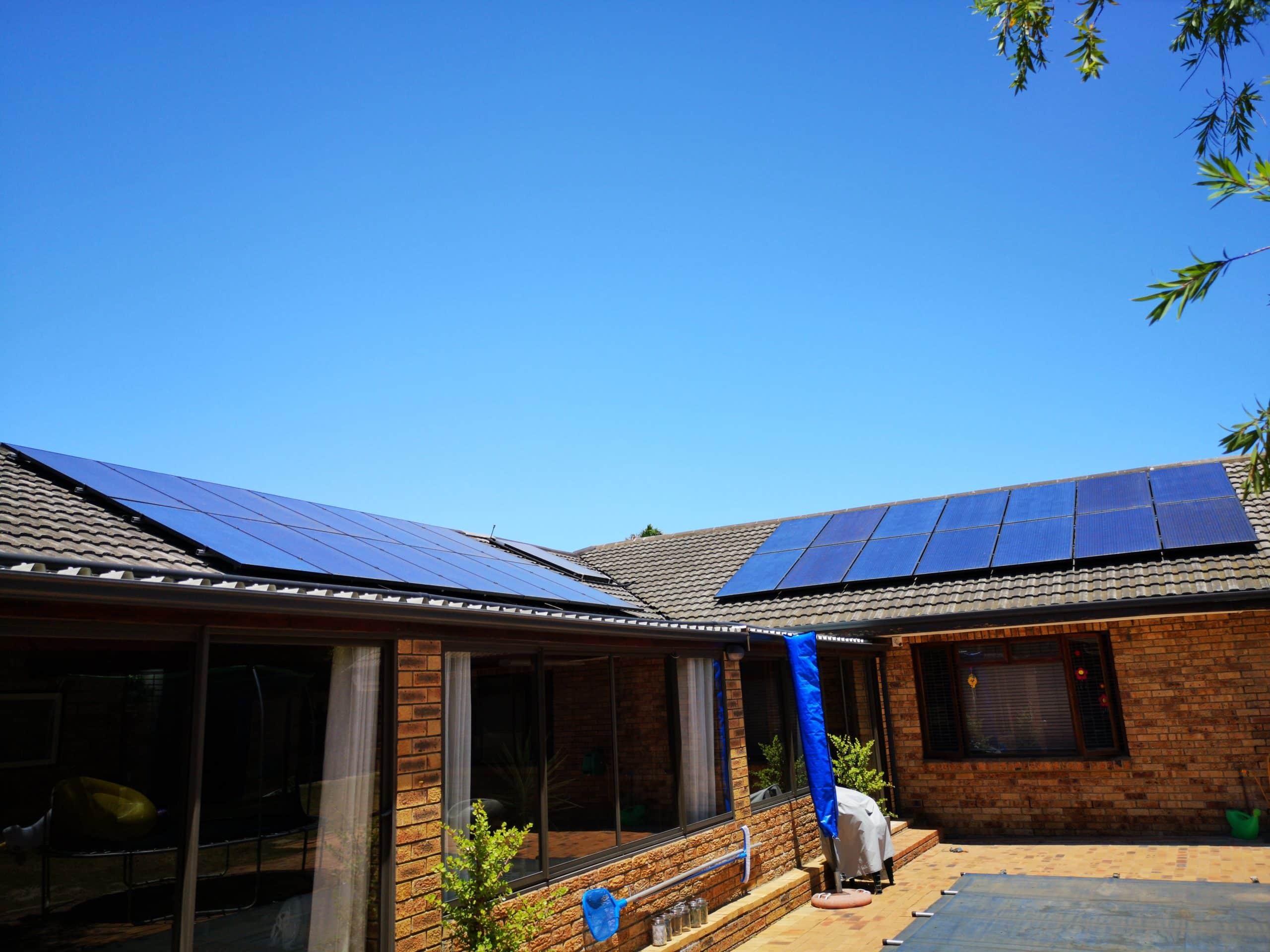 Residential Solar System in Durbanville