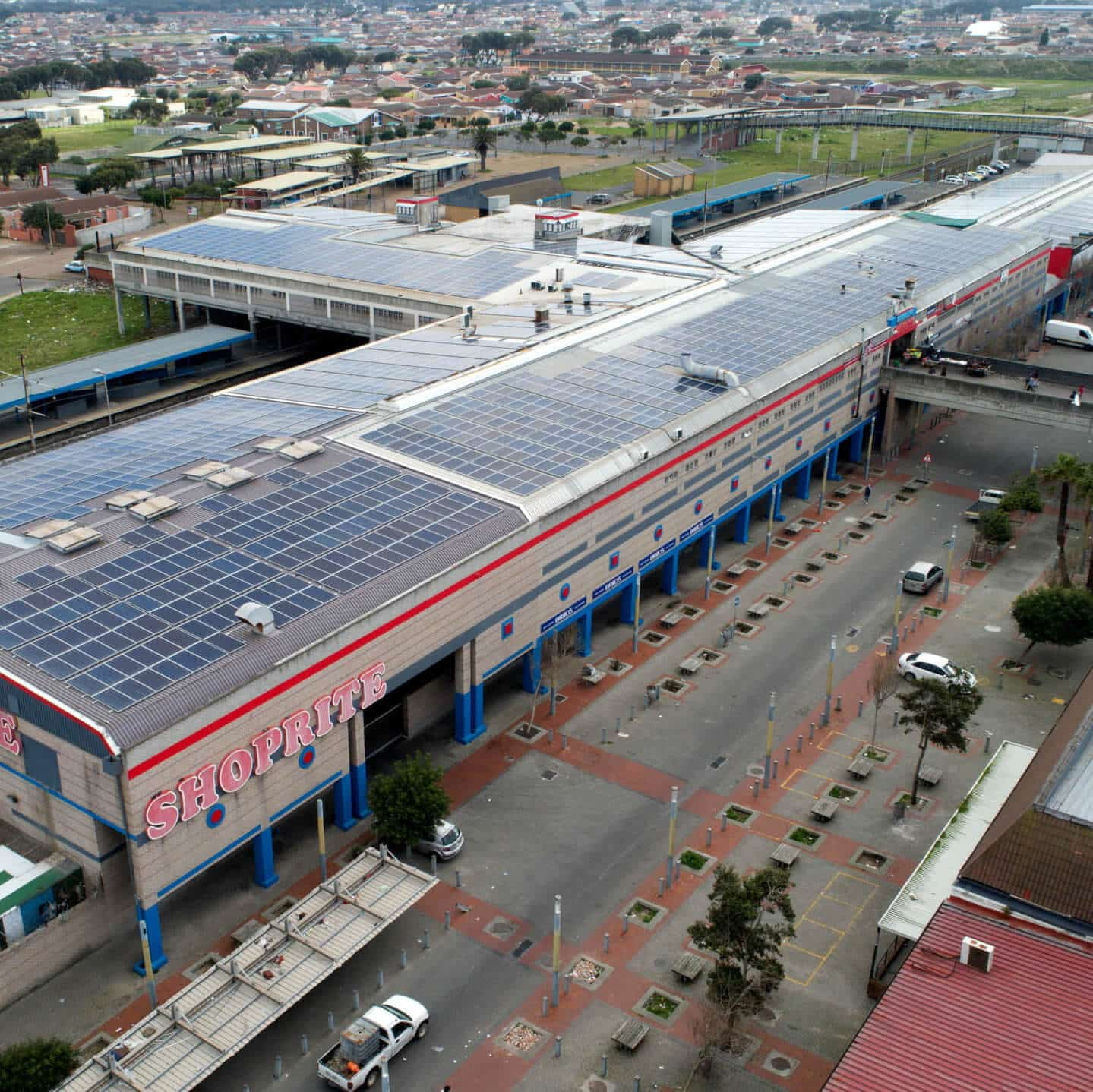 Biggest PV System in Mitchells Plain - Cape Town