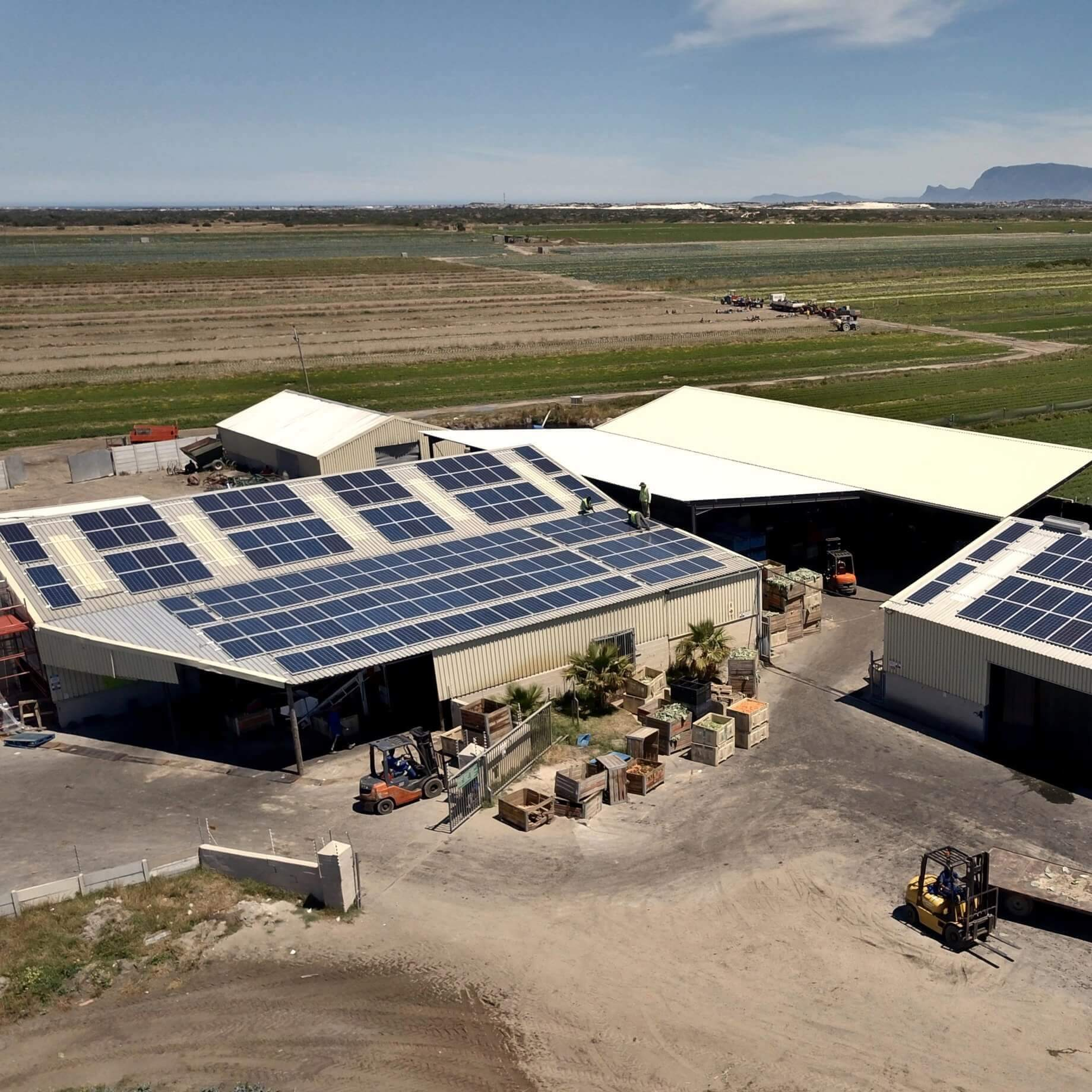 Commercial Solar Power System in Philippi, Cape Town
