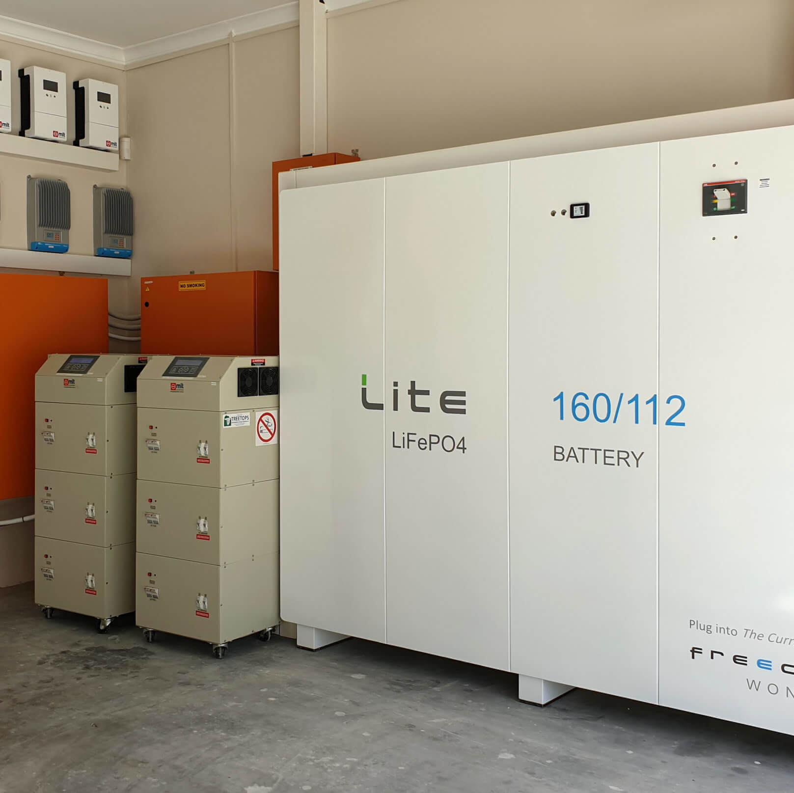 Largest residential Solar Battery System in Cape Town