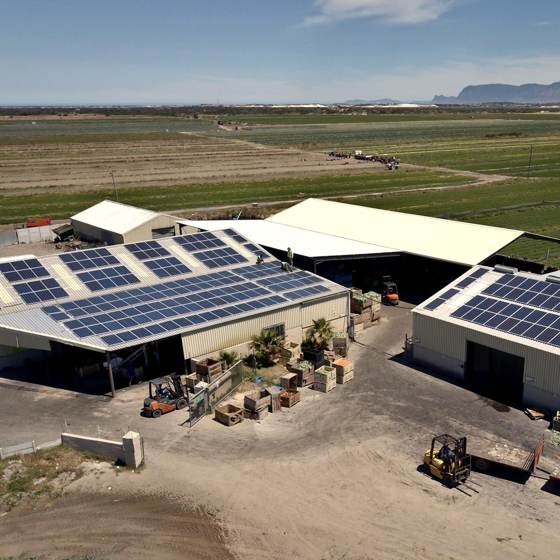 Solar System Cape Town for Farmer in Philippi