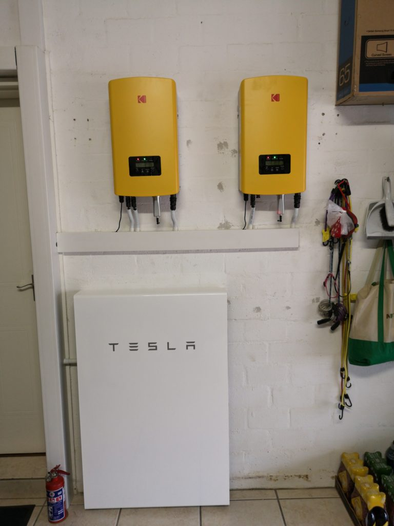 Tesla Powerwall 2 with Solar Panels in Cape Town